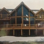 Log Home Construction Idaho Falls