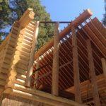 custom log homes Idaho Falls